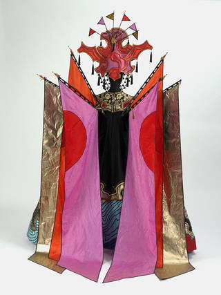 Costume for the Fairy in Bartok's Ballet, The Wood