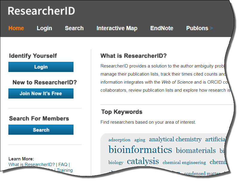 ResearcherID