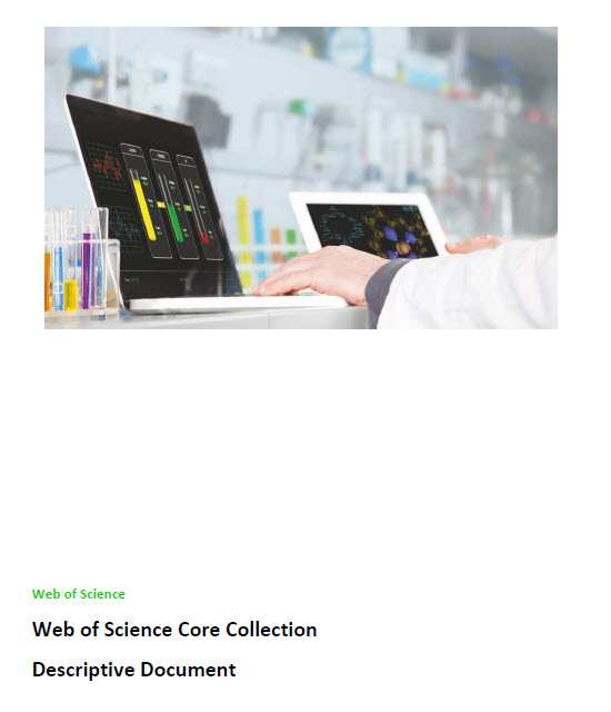 Web of Science Core Collection descriptive document