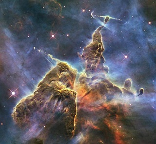 Hubble Captures View of Mystic Mountain