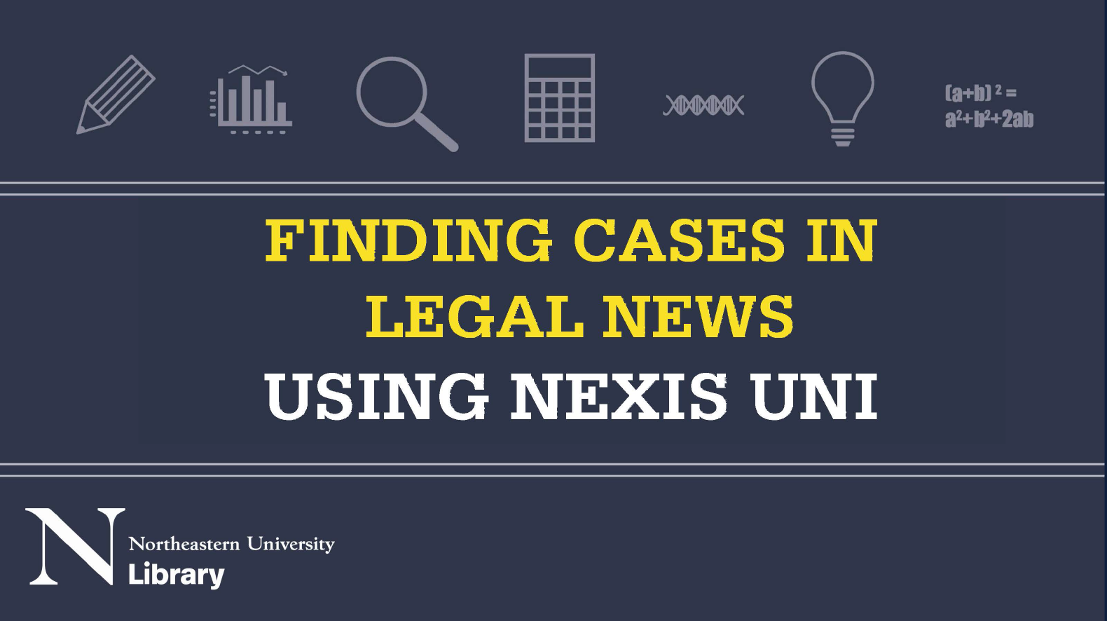 Finding cases in legal news using Nexis Uni