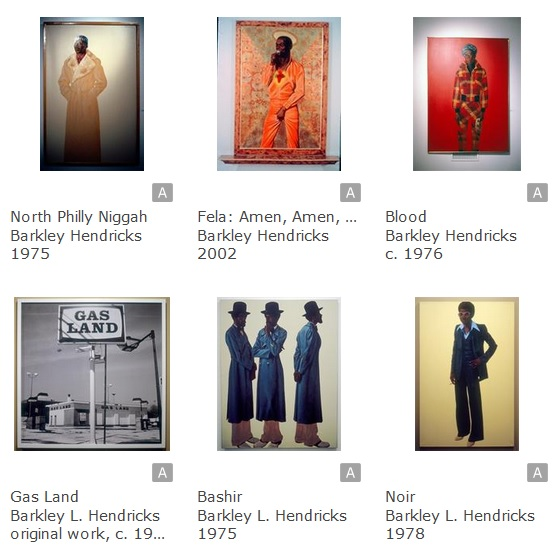 Barkley Hendricks Images on ArtStor