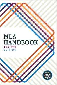 Cover of the MLA Handbook