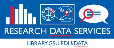 logo, Research Data Services, Fall 2018