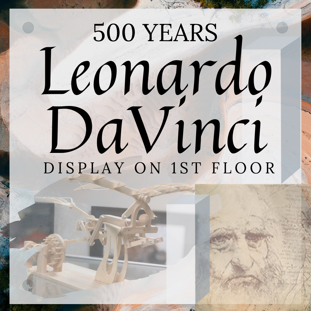 DaVinci Display - 500 years