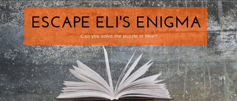 Escape Eli's Enigma. Can you solve the puzzle in time