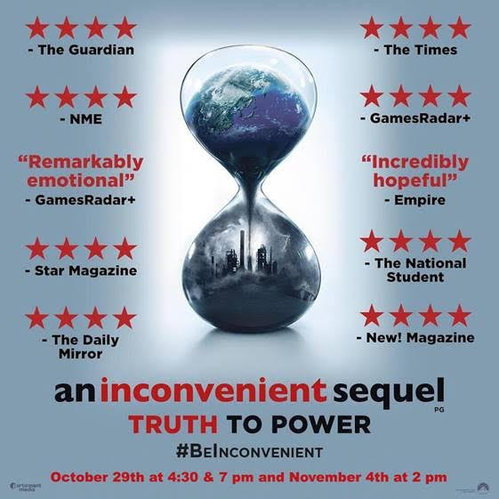 "Official movie poster for ""An Inconvenient Sequel"""