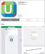 image of up to date app