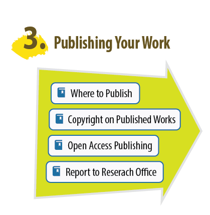 3. Publishing Your Work