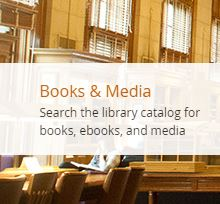 Search the catalog for books, ebooks, and media