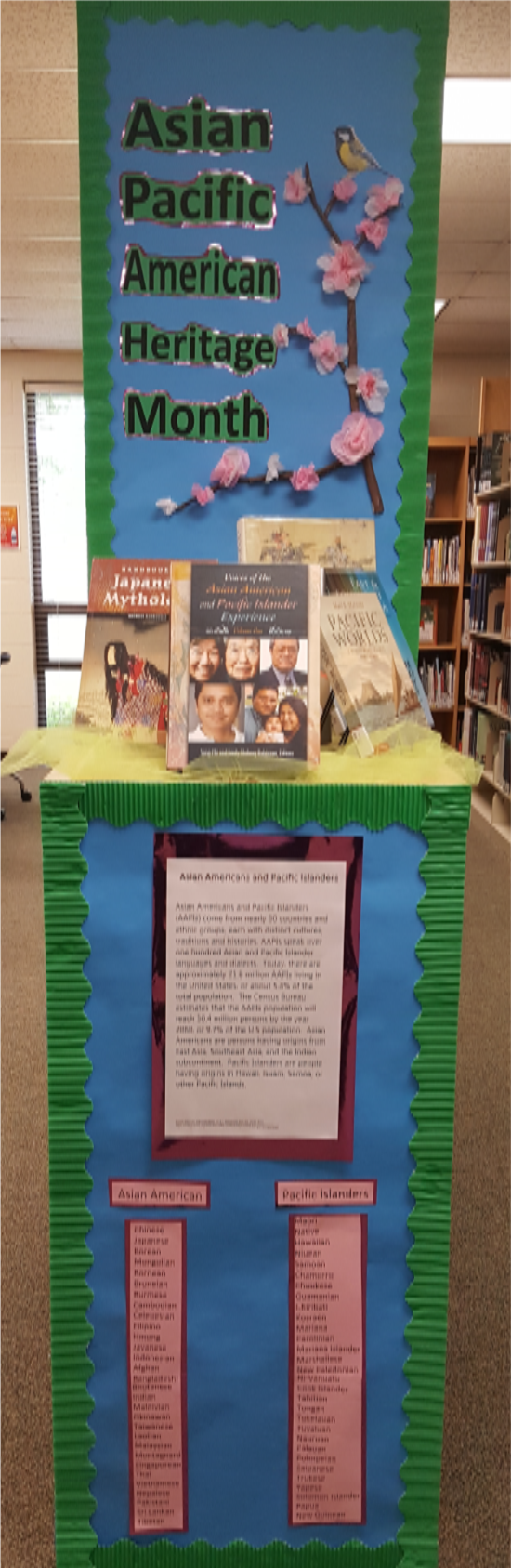 Asian Pacific Heritage Month Display, May 2017