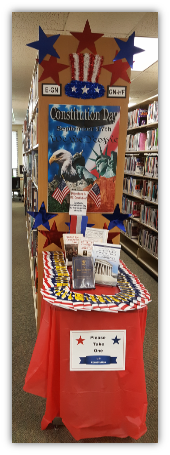 Display:  Constitution Day, Sept. 17, 2017