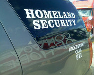 Photo of homeland security van