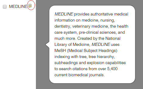 yellow icon in ebscohost