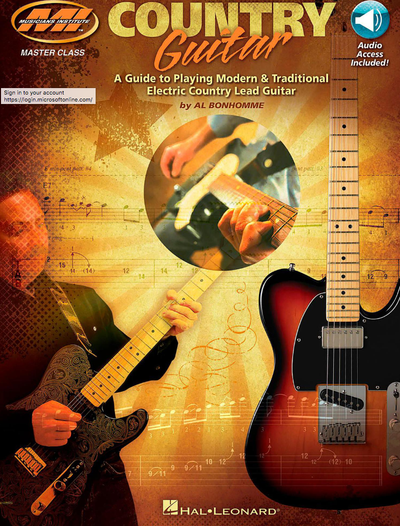 Country guitar : a guide to playing modern & traditional electric country lead guitar