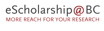 eScholarship@BC: more reach for your research