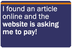 website is asking me to pay for article