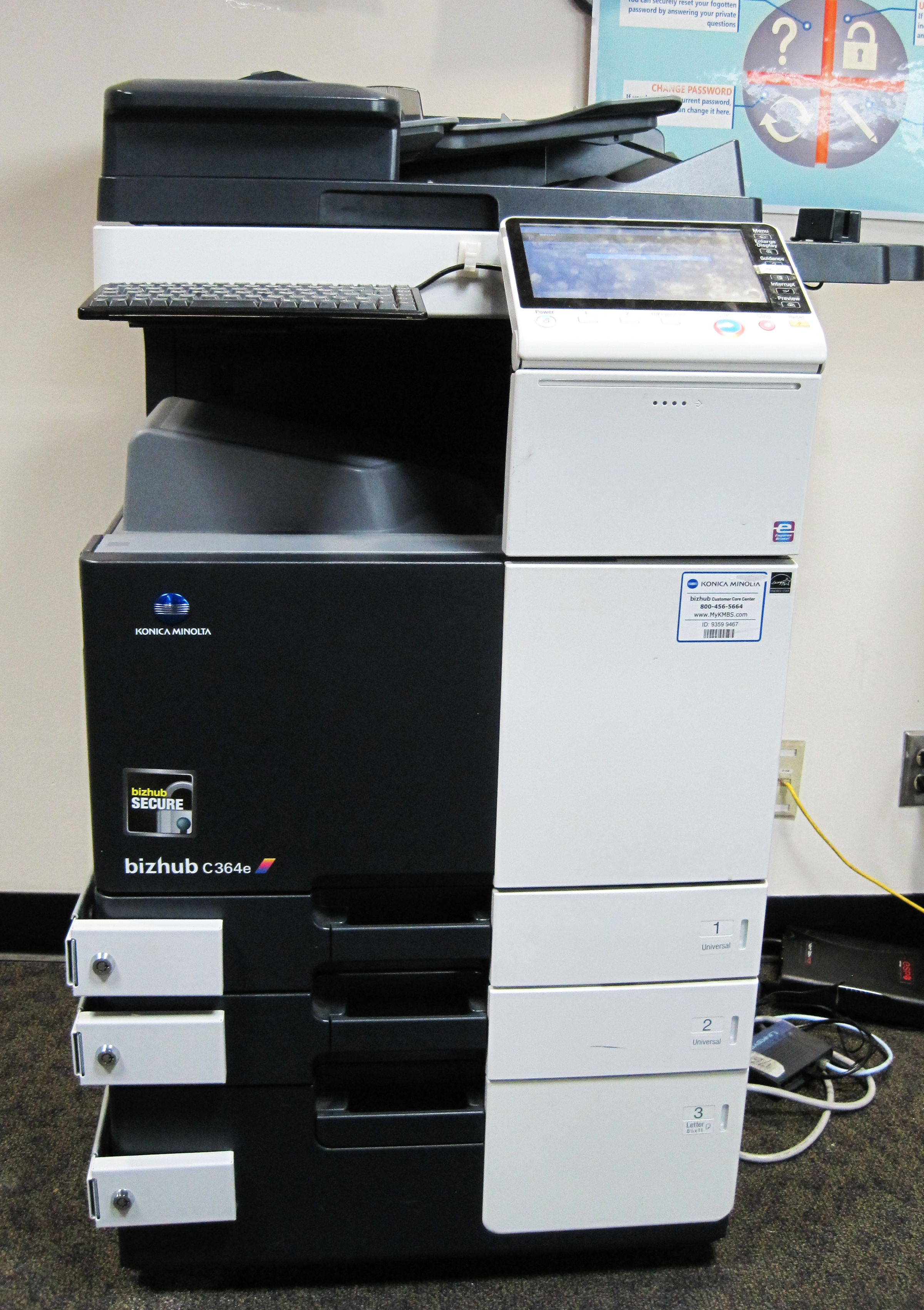large photocopier printer