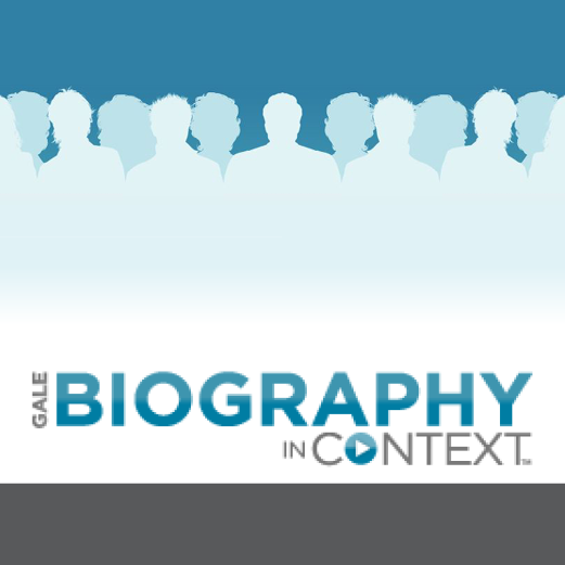 logo: Biography in Context