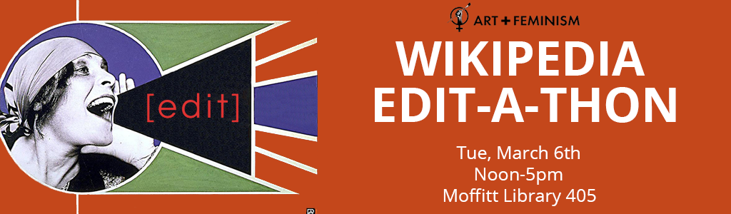 Wikipedia Edit-a-Thon