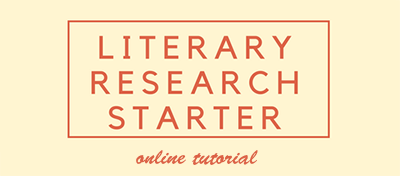 Literary Researcher Starter