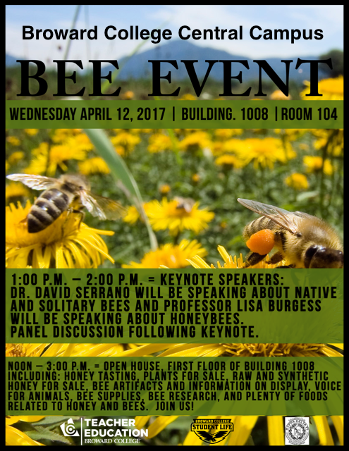 Central Campus Bee Event