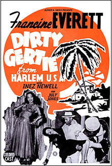 Dirty Gertie from Harlem movie poster