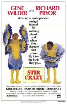 Stir Crazy movie poster