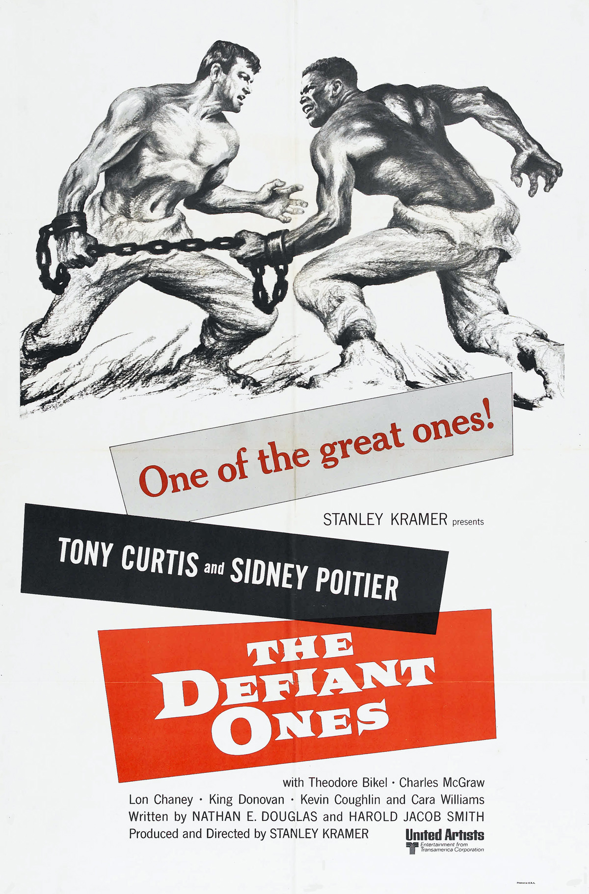 The Defiant Ones movie poster
