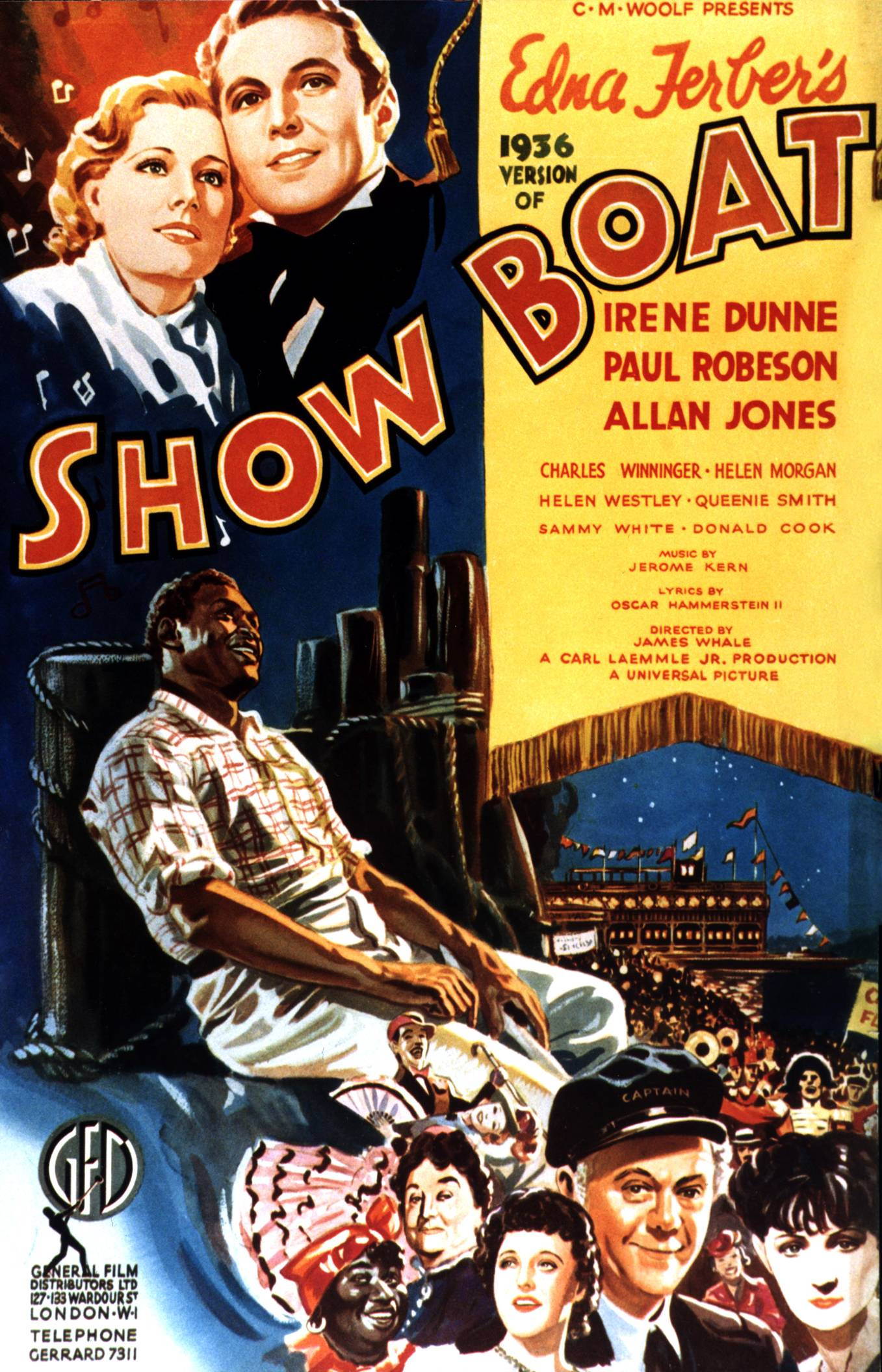 Show Boat movie poster
