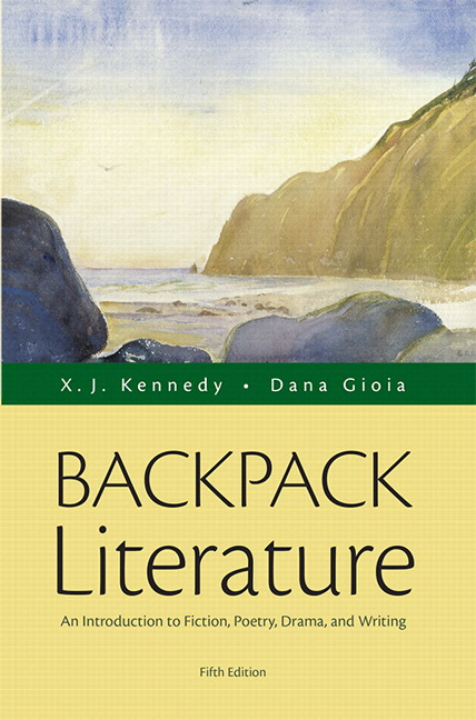 cover of book backpack literature