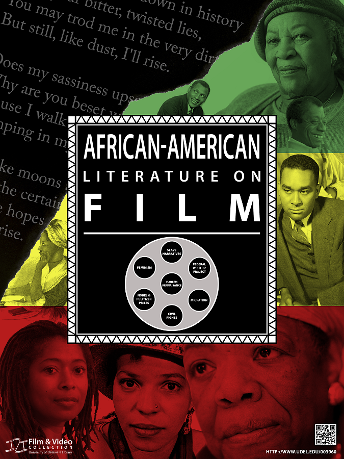 """African-American Literature on Film"" poster image"