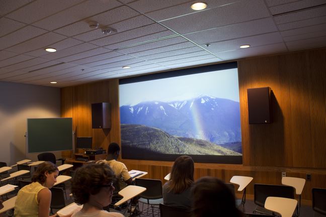 Photo of Film & Video Viewing Room