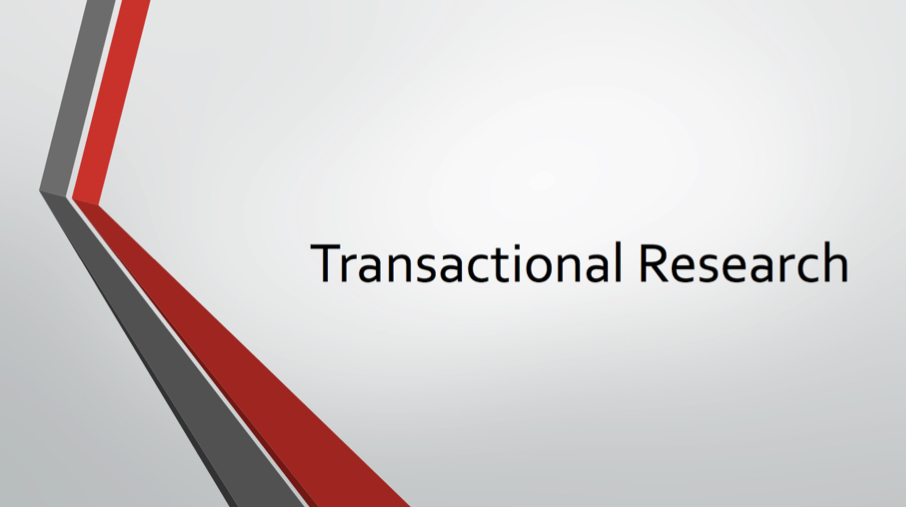 Cover image: Transactional Law Research (link to webcast)