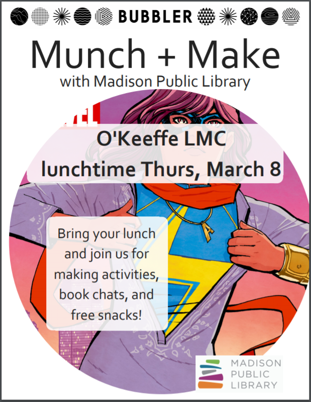 March Munch and Make Poster