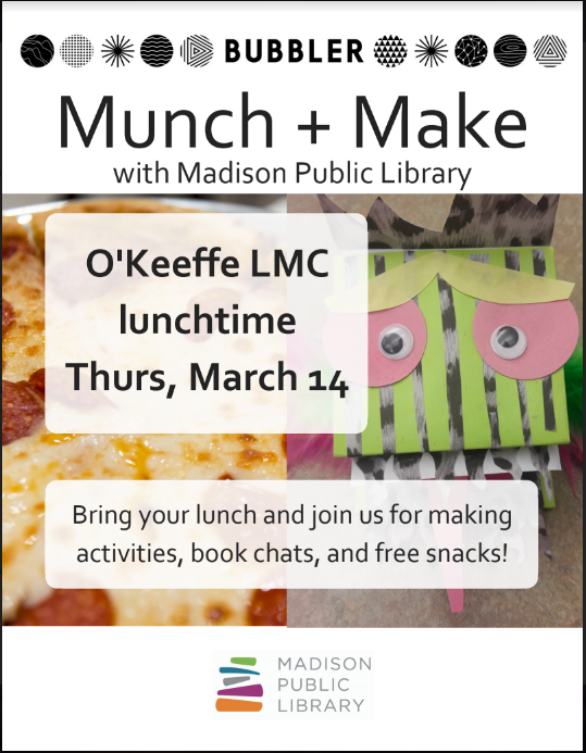 Munch and Make March 14