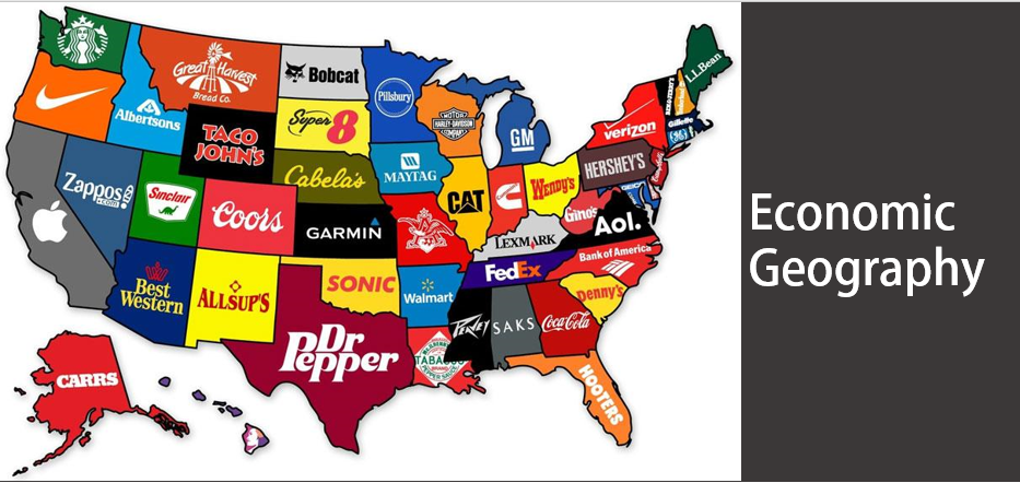 Map of US with most popular brand in each state