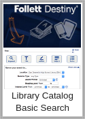 Basic library catalog search