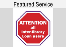 Featured Service: Interlibrary Loan