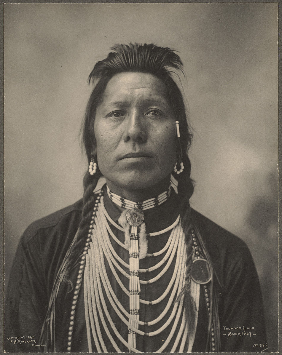 Thunder Cloud, Blackfeet