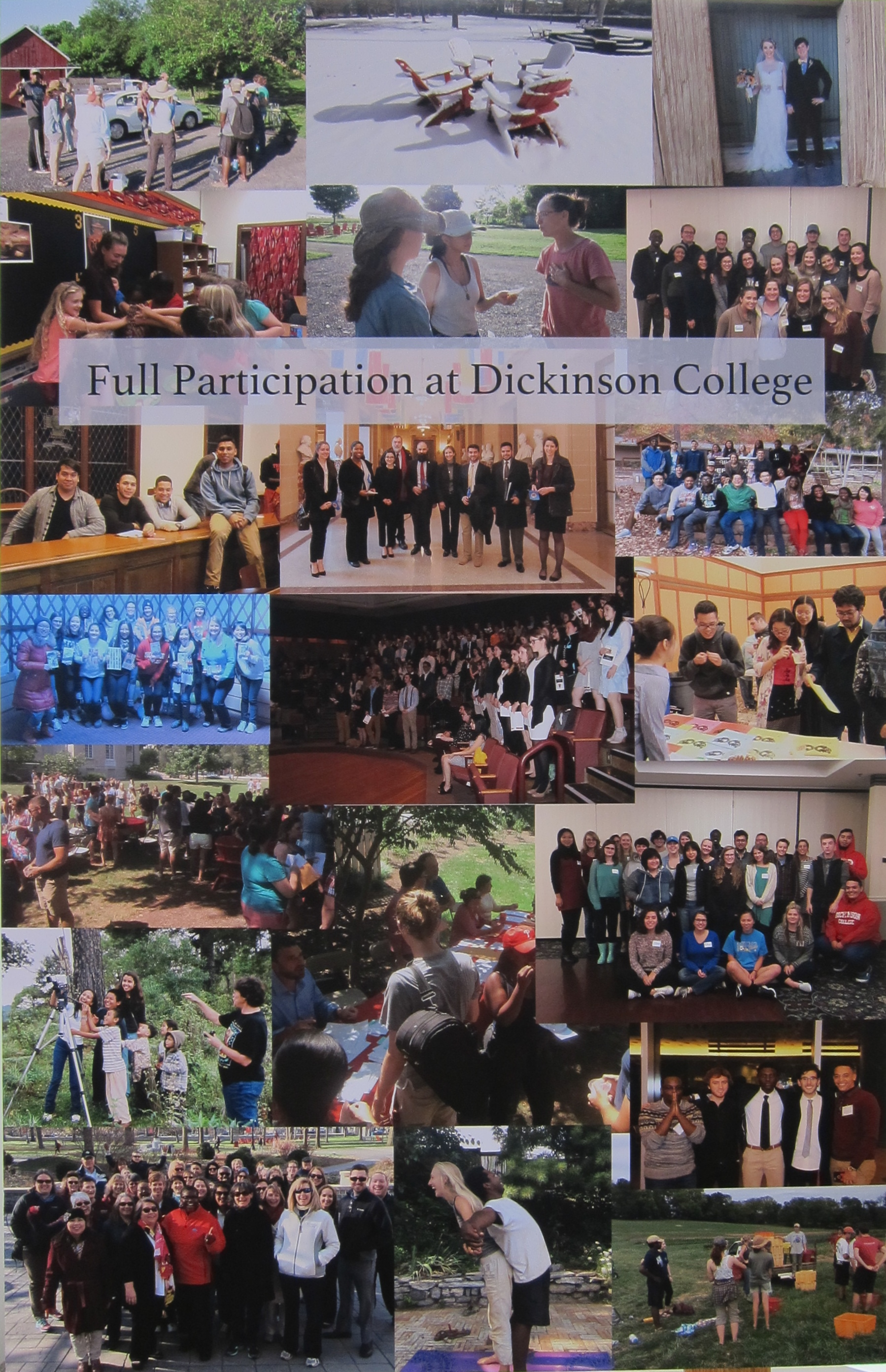 Full Participation Collage
