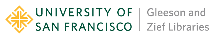 University of San Francisco - Gleeson and Zief Libraries logo