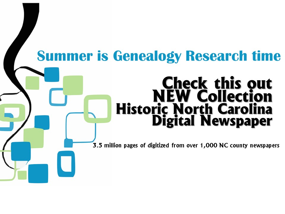Summer is Genealogy Research Time