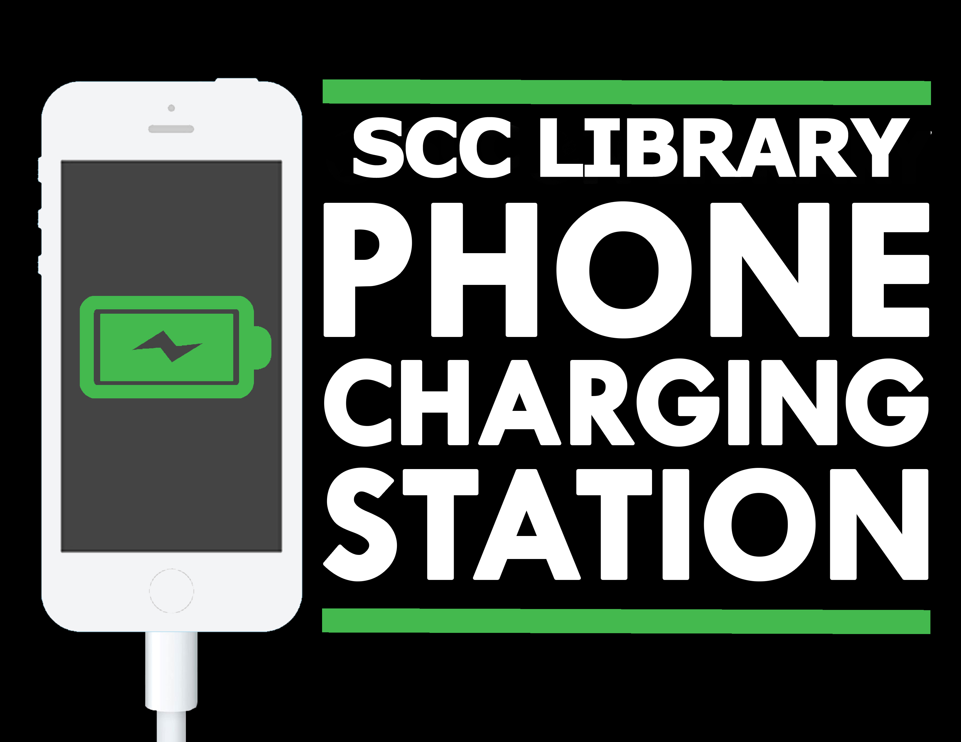 Phone Charging Station Library pic