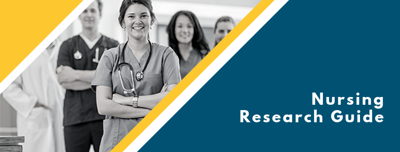 Nursing research guide header image