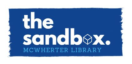 the sandbox. logo