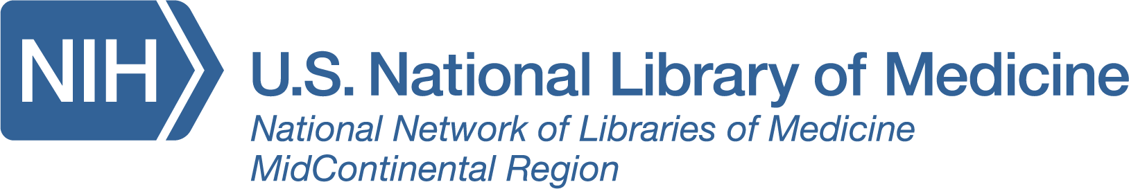 National Network of Libraries of Medicine MidContinental Region logo