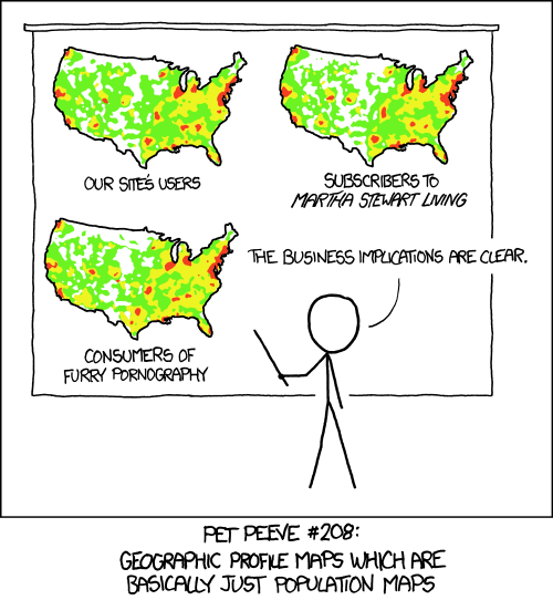 cartoon comparing misleading maps