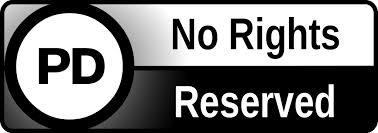 "Public Domain Seal, ""No Rights Reserved"""