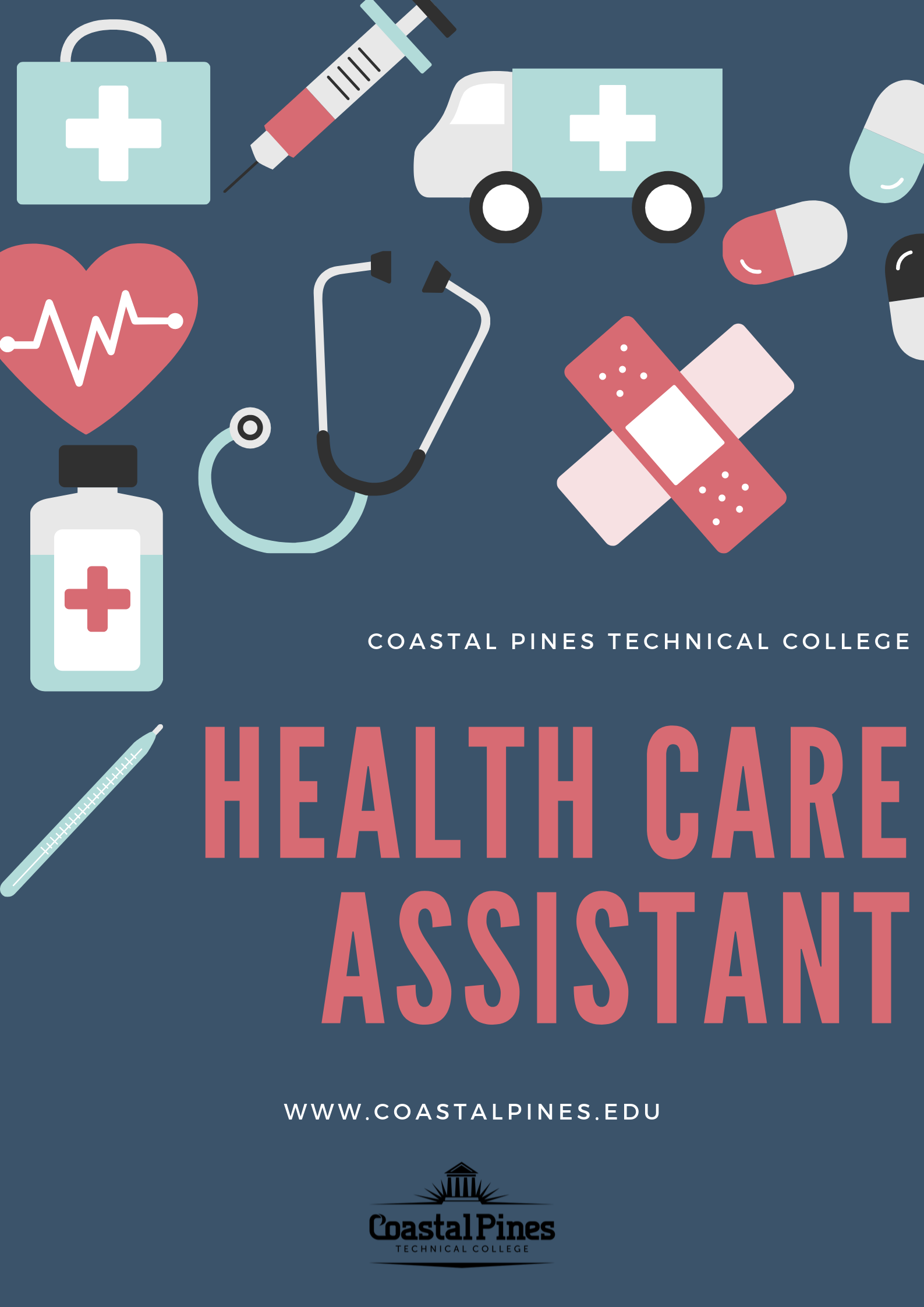 Health Care Assistant Program Poster